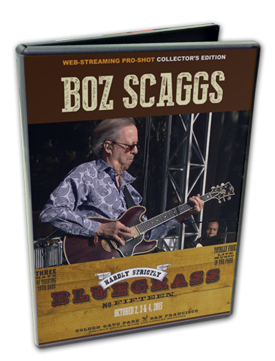 BOZ SCAGGS - HARDLY STRICTLY BLUEGRASS FESTIVAL 2015