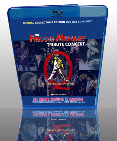 V.A. - THE FREDDIE MERCURY TRIBUTE CONCERT: ULTIMATE COMPLETE EDITION