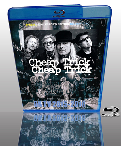 CHEAP TRICK - ON TV 2015-2016