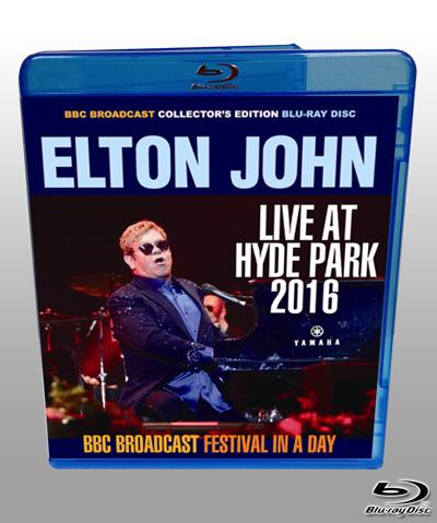 ELTON JOHN - LIVE AT HYDE PARK