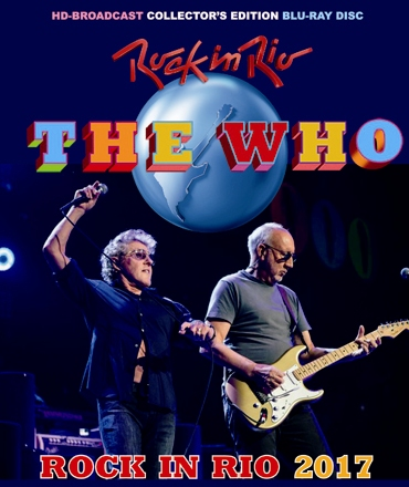 the WHO - ROCK IN RIO 2017