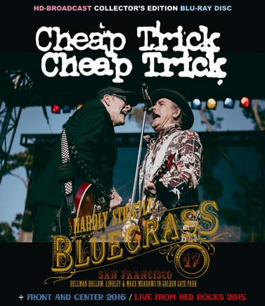 CHEAP TRICK - HARDLY STRICTLY BLUEGRASS 2017