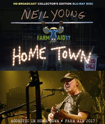 NEIL YOUNG - ACOUSTIC IN HOME TOWN + FARM AID 2017