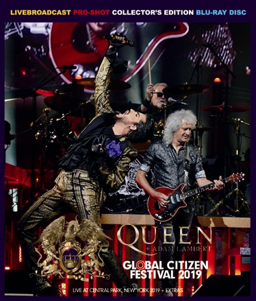 QUEEN + ADAM LAMBERT - GLOBAL CITIZEN FESTIVAL 2019 (1BDR)