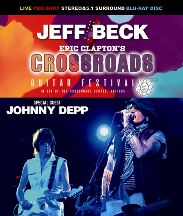 JEFF BECK - CROSSROADS GUITAR  FESTIVAL 2019 (1BDR)