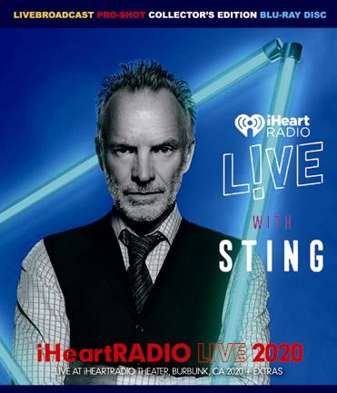 STING - iHeart RADIO LIVE 2020 (1BDR)