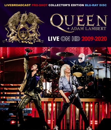 QUEEN + ADAM LAMBERT - LIVE ON HD 2009-2020 (1BDR)