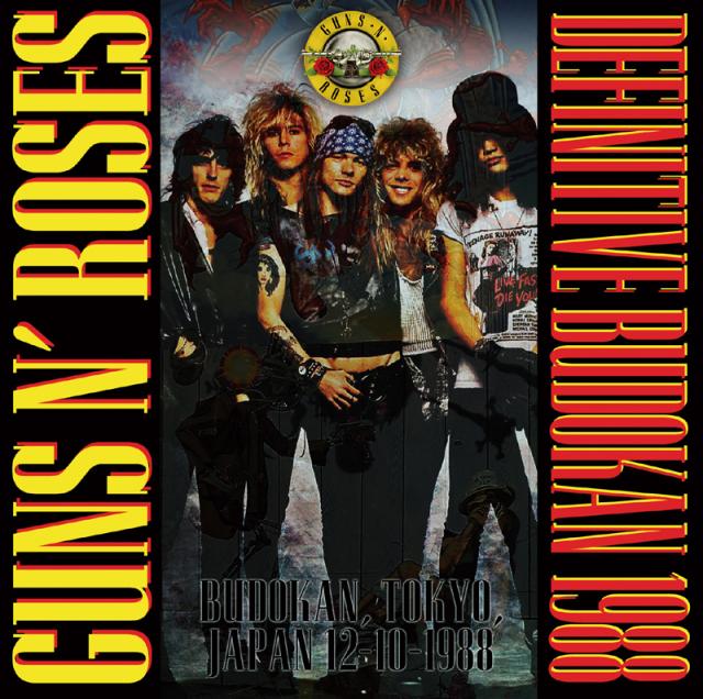 GUNS N' ROSES - DEFINITIVE BUDOKAN 1988 (2CD)