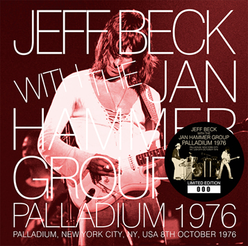 JEFF BECK WITH THE JAN HAMMER GROUP - PALLADIUM 1976 (2CD)