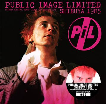PUBLIC IMAGE LIMITED - SHIBUYA 1985 (1CD)