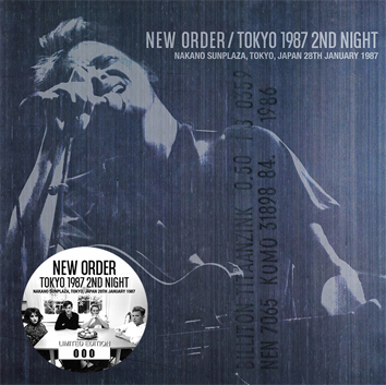 NEW ORDER - TOKYO 1987 2ND NIGHT