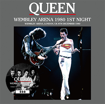 QUEEN - WEMBLEY ARENA 1980 1ST NIGHT