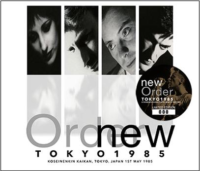 NEW ORDER - TOKYO 1985 (3CD)
