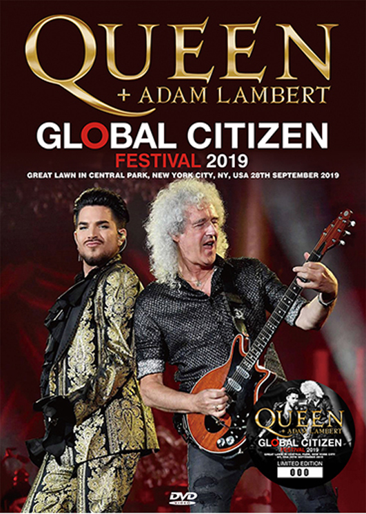QUEEN + ADAM LAMBERT - GLOBAL CITIZEN FESTIVAL 2019 (1DVD)