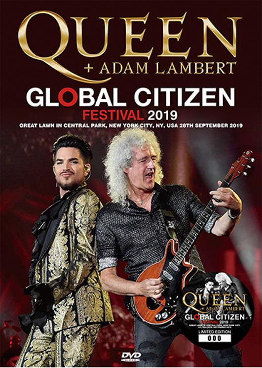 QUEEN + ADAM LAMBERT - GLOBAL CITIZEN FESTIVAL 2019 (1DVD)