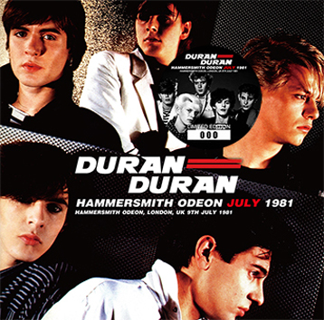 DURAN DURAN - HAMMERSMITH ODEON JULY 1981 (2CD)