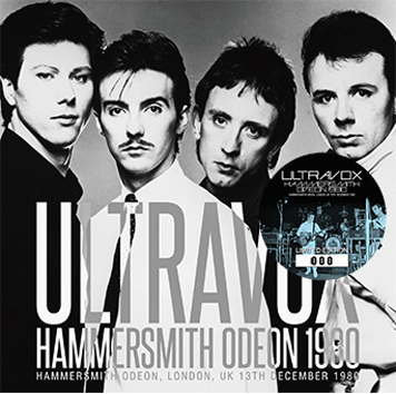 ULTRAVOX - HAMMERSMITH ODEON 1980 (1CD)