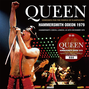 QUEEN - HAMMERSMITH ODEON 1979: LEGENDARY MASTER TAPES (2CD)