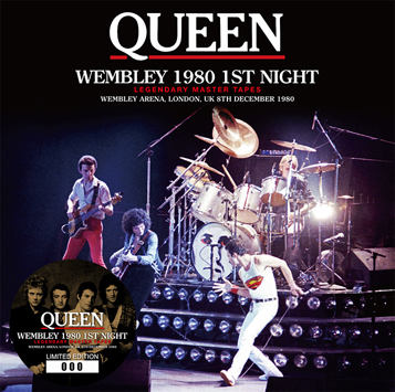 QUEEN - WEMBLEY 1980 1ST NIGHT: LEGENDARY MASTER TAPES (2CD)