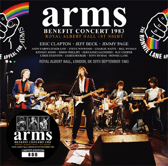 V.A. - ARMS BENEFIT CONCERT 1983: ROYAL ALBERT HALL 1ST NIGHT (2CD)