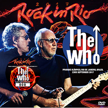 WHO - ROCK IN RIO 2017 DVD