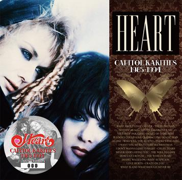 HEART - CAPITOL RARITIES (2CD)