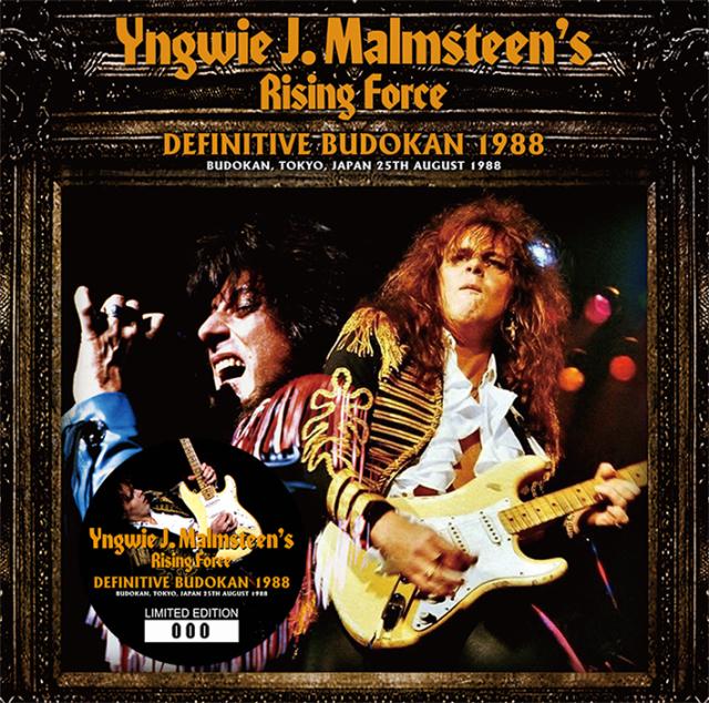 YNGWIE J. MALMSTEEN'S RISING FORCE - DEFINITIVE BUDOKAN 1988 (2CD)