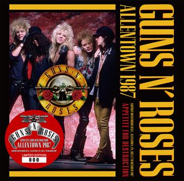 GUNS N' ROSES - ALLENTOWN 1987 (1CD)