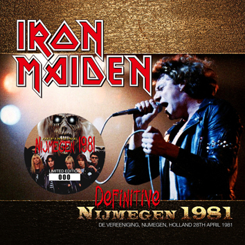 IRON MAIDEN - DEFINITIVE NIJMEGEN 1981(1CD)
