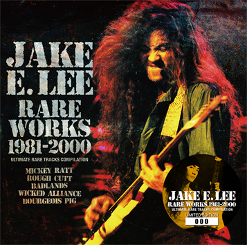 JAKE E. LEE - RARE WORKS 1981-2000 (1CD)