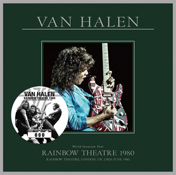 VAN HALEN - RAINBOW THEATRE 1980 (1CD)