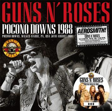 GUNS N' ROSES - POCONO DOWNS 1988(1CD)