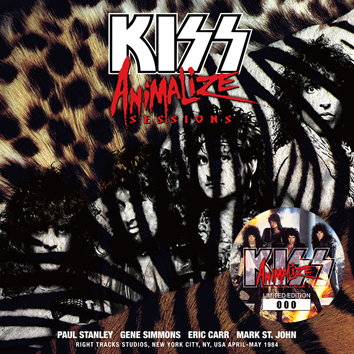 KISS - ANIMALIZE SESSIONS (1CD)