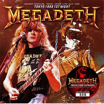 MEGADETH - TOKYO 1988 1ST NIGHT