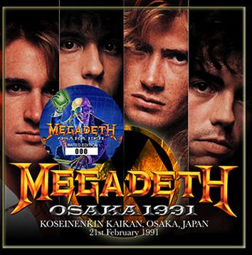 MEGADETH - OSAKA 1991