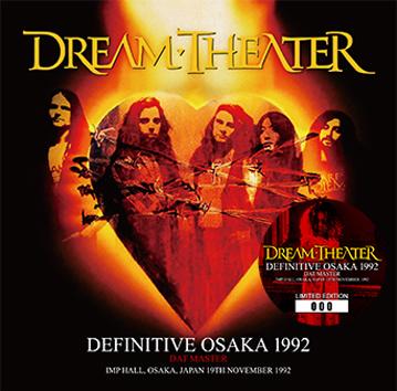 DREAM THEATER - DEFINITIVE OSAKA 1992: DAT MASTER