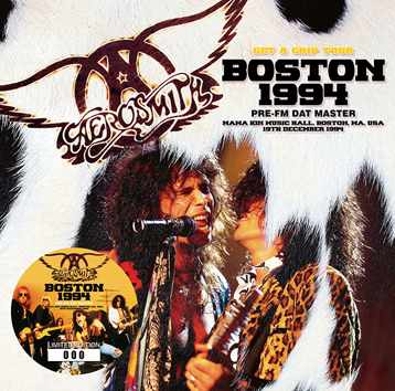 AEROSMITH - BOSTON 1994: PRE-FM DAT MASTER (2CD)
