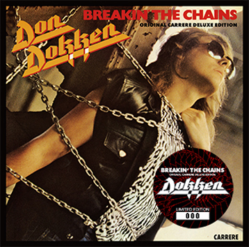 DOKKEN - BREAKIN' THE CHAINS [ORIGINAL CARRERE DELUXE EDITION] (1CD+1DVD)