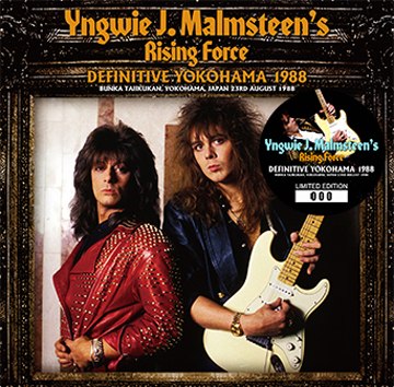 YNGWIE J. MALMSTEEN'S RISING FORCE - DEFINITIVE YOKOHAMA 1988 (2CD)