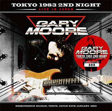 GARY MOORE - TOKYO 1983 2ND NIGHT (2CD)