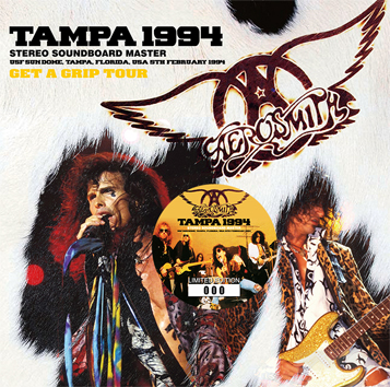 AEROSMITH - TAMPA 1994 STEREO SOUNDBOARD MASTER (2CD)