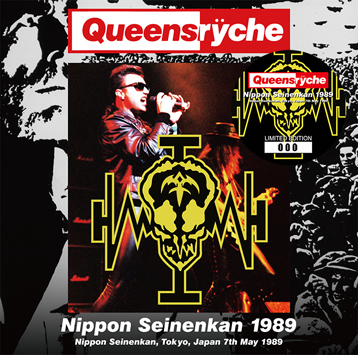 QUEENSRYCHE - NIPPON SEINENKAN 1989 (2CD)
