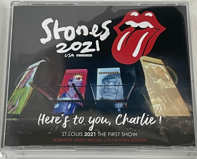ROLLING STONES - HERE'S TO YOU, CHARLIE!