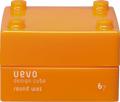 DEMI デミ ウェーボ デザインキューブ ラウンドワックス ライトオレンジ 30g