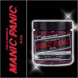 MANIC PANIC マニックパニック Plum Passion(プラムパッション)118ml