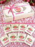 <CHELSEA GARDEN TEA>美しい化粧箱入りピンクのおリボン「ガーデンローズティー・コレクション」