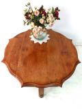 1940年代:いいお味になったオールドオーク♪まあるいステキなデザインのローテーブル