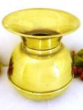 1920年代:真鍮細工が素晴らしい英国アンティークの無垢の真鍮のとてもとても大きな飾り壺
