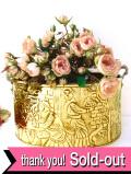 1910年代:優雅な真鍮細工♪英国アンティークの左右に持ち手が付いた無垢の真鍮のとても大きな炭入れ