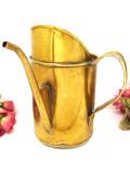 1910年代:エドワーディアン時代♪無垢の真鍮の貴重なアンティークのオイルカン
